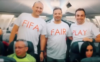 2018-06-05 Egyptian Football fans on board Egyptair on way to Moscow Russia for FIFA World Cup 2018 01 - YouTube