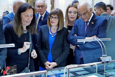 2018-07-20 Egyptian Artifacts Exhibition in Serbian Parliament 03 Youm7