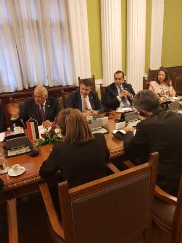 2018-07-20 Egyptian Parliamentary visit to Serbian Parliament 02 Youm7