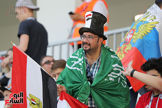2018-08-06 Egypt-Saudi Match Supporters 01