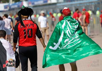 2018-08-06 Egypt-Saudi Match Supporters 02