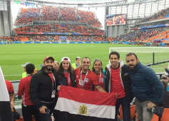 2018-08-06 Egypt Squash Stars in Russia - Egypt Vs Uruguay 01