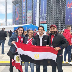 2018-08-06 Egypt Squash Stars in Russia - Egypt Vs Uruguay 02