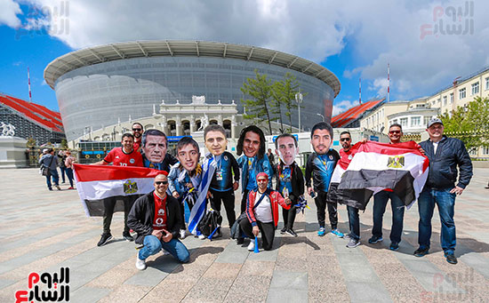 2018-08-06 Egypt-Uruguay Stadium and fans 15-05-2018 First Day of Eid 02