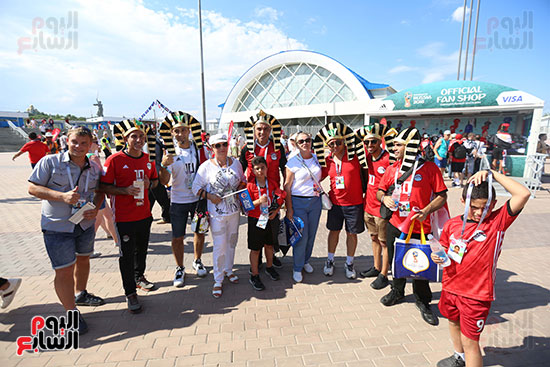 2018-08-06 Egyptian fans in Russia 2018 40