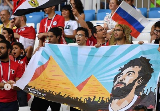2018-08-06 Egyptian fans support Mo Salah in Russia 2018 01