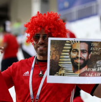 2018-08-06 Egyptian fans support Mo Salah in Russia 2018 02