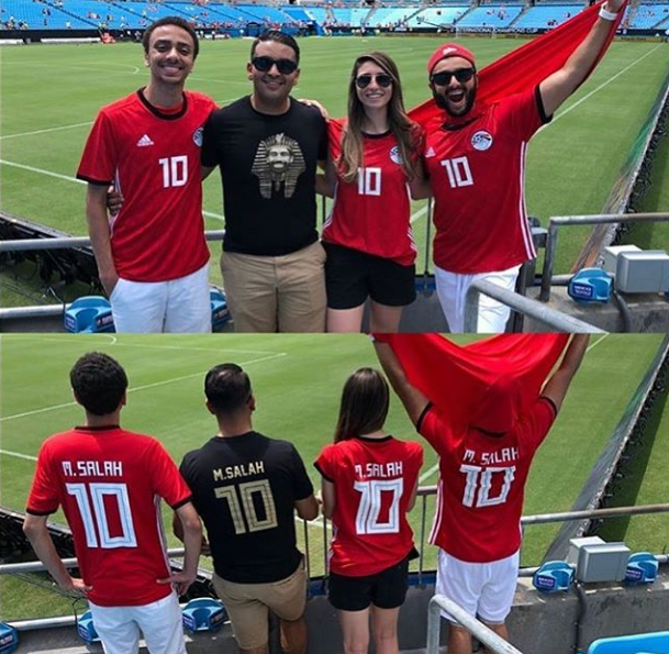 2018-08-06 Egyptian fans support Mo Salah in Russia 2018 03