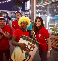 2018-08-06 Fans in Egypt - Dalia Ayman 01