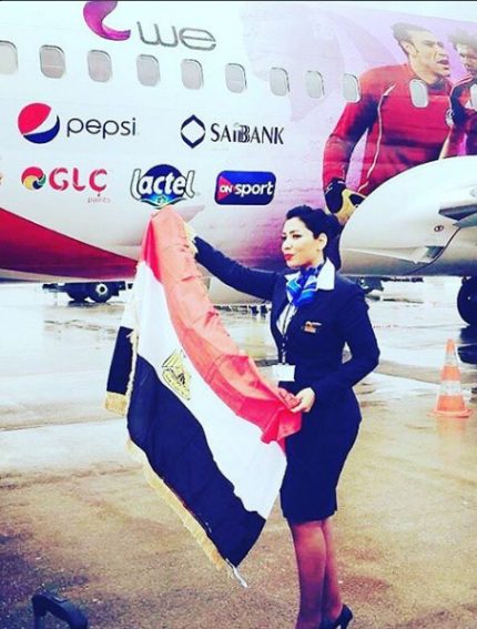 2018-08-06 Fans in Egypt - EgyptAir 01