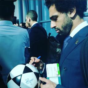 2018-08-06 Fans in Egypt - EgyptAir Salah 01