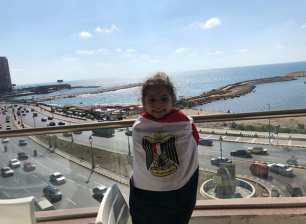 2018-08-06 Fans in Egypt - Girl from Alexandria