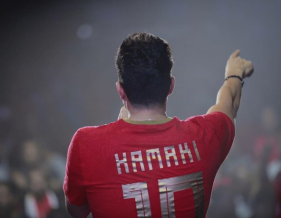 2018-08-06 Fans in Russia - Egyptian Pop Singer Hamaki during concert