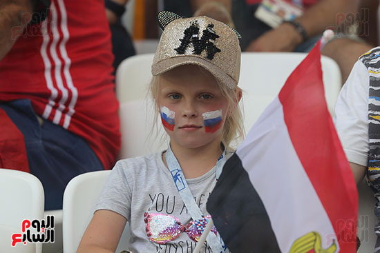 2018-08-06 Russian Supporters of Egypt - Egypt Vs Saudi Match 02