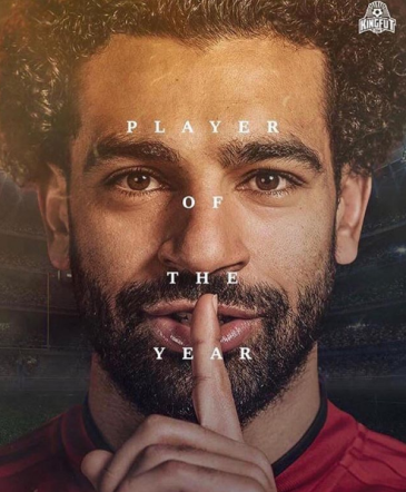 2018-08-06 Salah Player of the Year in England 2017-2018