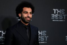 Soccer Football - The Best FIFA Football Awards - Royal Festival Hall, London, Britain - September 24, 2018 Liverpool's Mohamed Salah before the start of the awards Action Images via Reuters/John Sibley