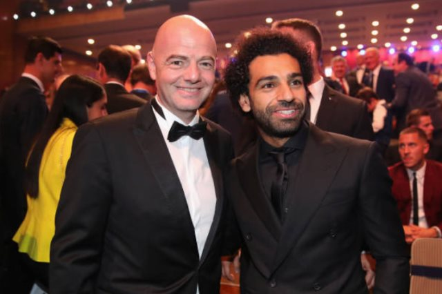 2018-10-02 Mo Salah FIFA The Best 2018 04