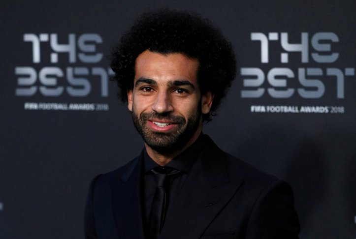 Mo Salah during The Best FIFA Football Awards