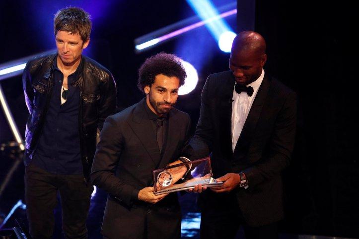 Mo Salah (Liverpool FC) during The Best FIFA Football Awards - Puskas