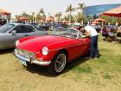 2019-04-03 Egypt Cairo Classic Cars and Vehicles Meetup - Classic Convertible Car MSN