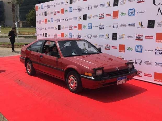 2019-04-03 Egypt Cairo Classic Cars and Vehicles Meetup - Classic Honda Youm7