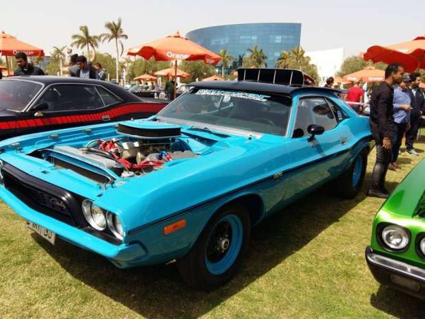 2019-04-03 Egypt Cairo Classic Cars and Vehicles Meetup - Classic Race Car MSN