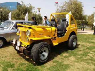 2019-04-03 Egypt Cairo Classic Cars and Vehicles Meetup - Jeep MSN