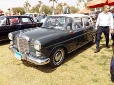 2019-04-03 Egypt Cairo Classic Cars and Vehicles Meetup - Mercedes Car MSN