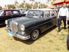 2019-04-03 Egypt Cairo Classic Cars and Vehicles Meetup - Mercedes Car MSN