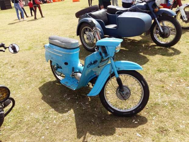 2019-04-03 Egypt Cairo Classic Cars and Vehicles Meetup - Vintage Motorcycle MSN
