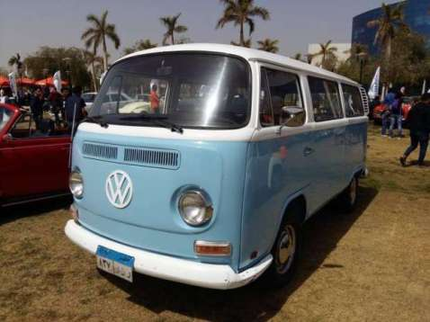 2019-04-03 Egypt Cairo Classic Cars and Vehicles Meetup - VW Mini-Bus MSN