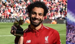 2019-04-08 Egypt Salah Golden Boot in English premier league 01