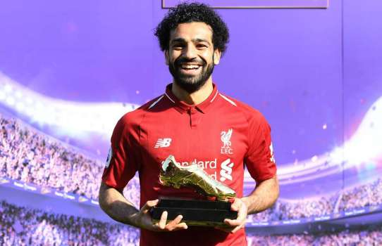 2019-04-08 Egypt Salah Golden Boot in English premier league 03