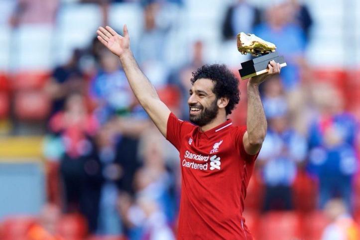 2019-04-08 Egypt Salah Golden Boot in English premier league 04