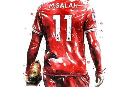 2019-04-08 Egypt Salah Golden Boot in English premier league - Cartoon SuperKora 08