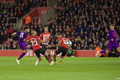 2019-04-08 Egypt Salah scores 50th goal in English premier league 04 - Twitter