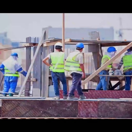 2019-05-23 500 500 Cancer Hospital serving patients in Egypt for free -construction work