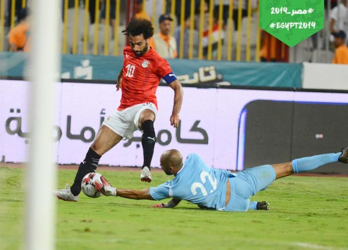 2019-06-19 Egypt Mo Salah Captain friendly match vs Guinea