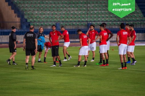 2019-06-19 Egypt National Team AFCON 2019 training session