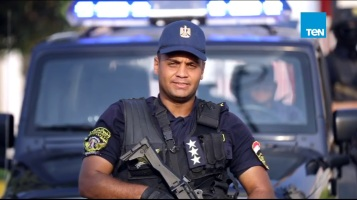 2019-06-19 Egypt Police special forces officer for AFCON 2019 at Stadiums 01