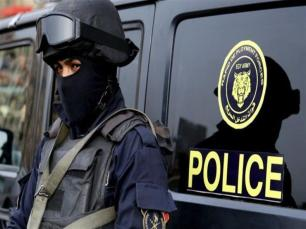 2019-06-19 Egypt Police special forces officer for AFCON 2019 at Stadiums 02