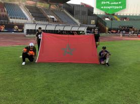 2019-06-19 Egypt volunteers training at stadium for AFCON 2019 cup
