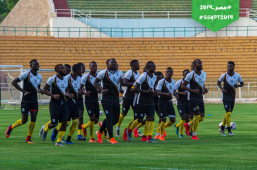 2019-06-19 Uganda National Team AFCON 2019 training session