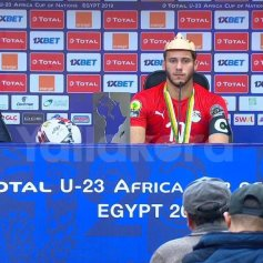 2019-11-26 Egypt AFCON U23 African Football Cup - Egypt Captain Final Press Conference 01