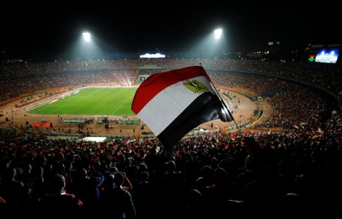 2019-11-26 Egypt AFCON U23 African Football Cup - Egyptian fans pack Cairo stadium final match
