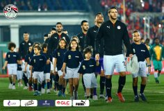 2019-11-26 Egypt AFCON U23 African Football Cup - Egyptian Team and kids 02
