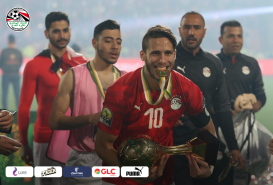 2019-11-26 Egypt AFCON U23 African Football Cup - Egyptian Team Champions Ramadan Sobhy 01