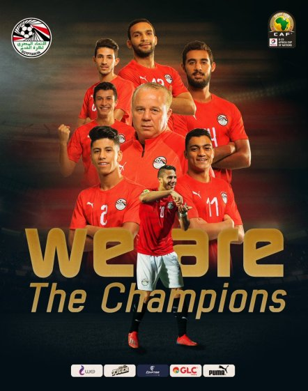 2019-11-26 Egypt AFCON U23 African Football Cup - Egyptian Team Champions