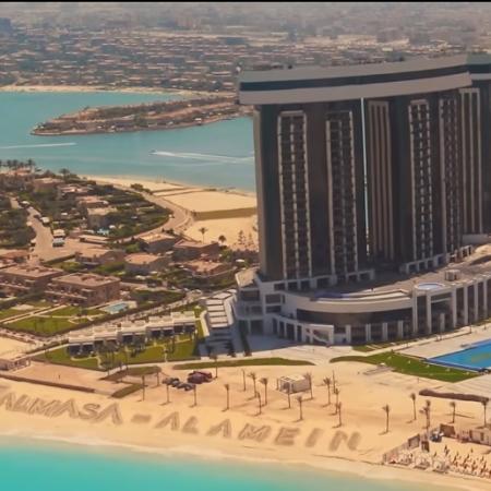 2020-09-13 Almasa Hotel New Alamein Egypt - Ekhteraa song 2020