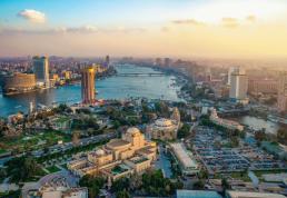 2020-09-15 Egypt capital Cairo Skyview
